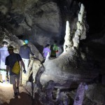 Cavers in Tham Klang